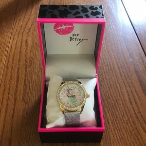 NWT Betsy Johnson Watch